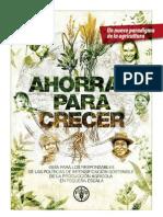 FAO. Ahorrar Para Crecer Folleto