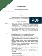 308.K.dir.2009 Tentang Perubahan Atas Keputusan Direksi PT PLN (Persero) Nomor 337.K.dir.2008