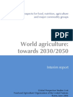 World Agriculture Towards 2030 2050