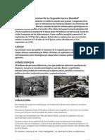 Causas y Consecuencias de La Segunda Guerra Mundial