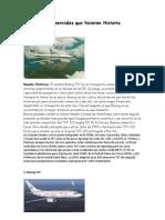 10 Aviones Comer CIA Les Que Hicieron Historia
