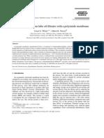 Memberane Filter at Ion in Dewaxing