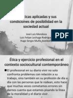 Eticas Aplicadas y Sus Condiciones de....