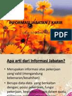 INFORMASI JABATAN