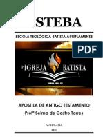 APOSTILA ANTIGO TESTAMENTO