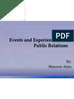 Events,Exp n Public Relation