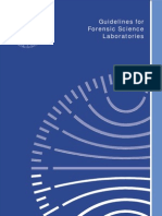 Guidelines for Forensic Science Laboratories