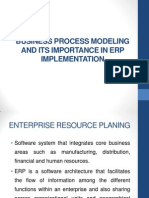 BPM and ERP