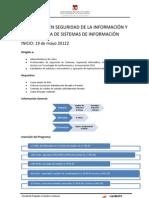Estructura Del Diplomado en Seguridad Informacion[1]