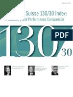 (2009) Credit Suisse 130 30 Index White Paper