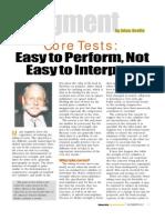 Core Test