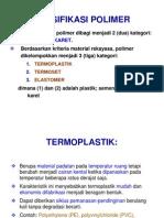 KLASIFIKASI POLIMER kel 4