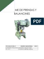 Tp2 Prensas y Balancines