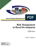 Ahmad Zubaidi Risk Management in Rural Development