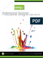 Steps to Becoming A Professional Designer WEB