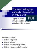 Utility Analysis (1)