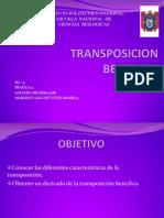 transposicion bencilica