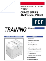 CLP-500 Series SVC Manual