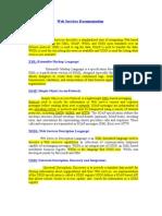 Web Services Documentation