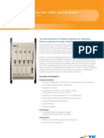 Prism Indoor Remote Unit Specifications 310378BE