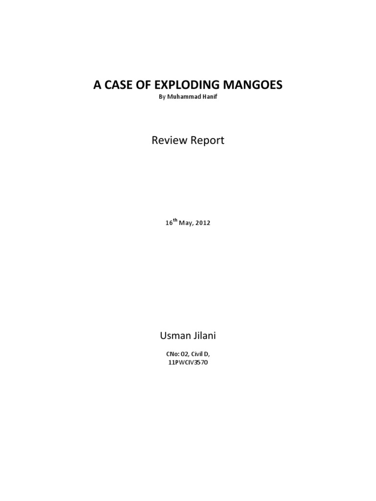 a case of exploding mangoes read online free