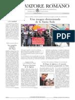L´OSSERVATORE ROMANO. 03 Junio 2012