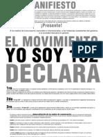 Manifiesto YoSoy132 Despierta Ensenada
