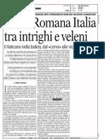 Santa Romana Italia Tra Intrighi e Veleni
