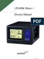 Satlook Micro+ Operation Manual