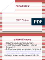 PERTEMUAN 3a - Snmp Windows