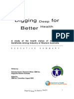 Digging Deep for Better Health