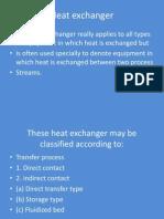 3. Heat Exchanger Clasification