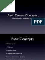 Basic Camera Concepts