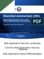 Black Hat Europe 2001 Presentation