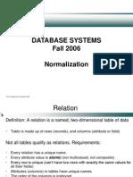 8.1. Normalization
