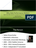 OTUG to Why Web Performance Matters 20120213