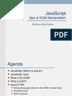Javascript Ajax