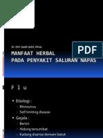Manfaaf Herbal Pd Sal Napas