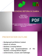 IBC SWAZILAND - Business Licensing in Zambia 30052012