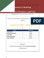 Honda Final Report 2010 2