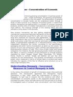 Economic Issue_Concentration of Economic Power