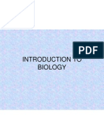 Inroduction to Biology-1