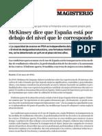 Nota de Prensa McKinsey