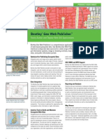Bentley Geo Web Publisher Product Data Sheet