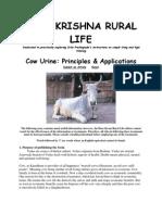 Cow Urine Principles & Applications