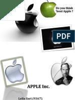 Apple Inc. Tugas Spesial Man.strategi Edtn Septi