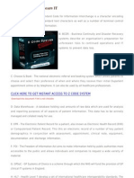 The a to Z of Healthcare IT