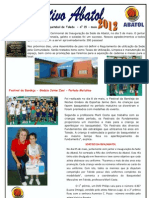 Informativo Abatol Maio - Toledo PR