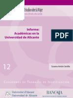 Informe Académicas UA