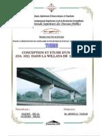 Conception et étude d'un pont
